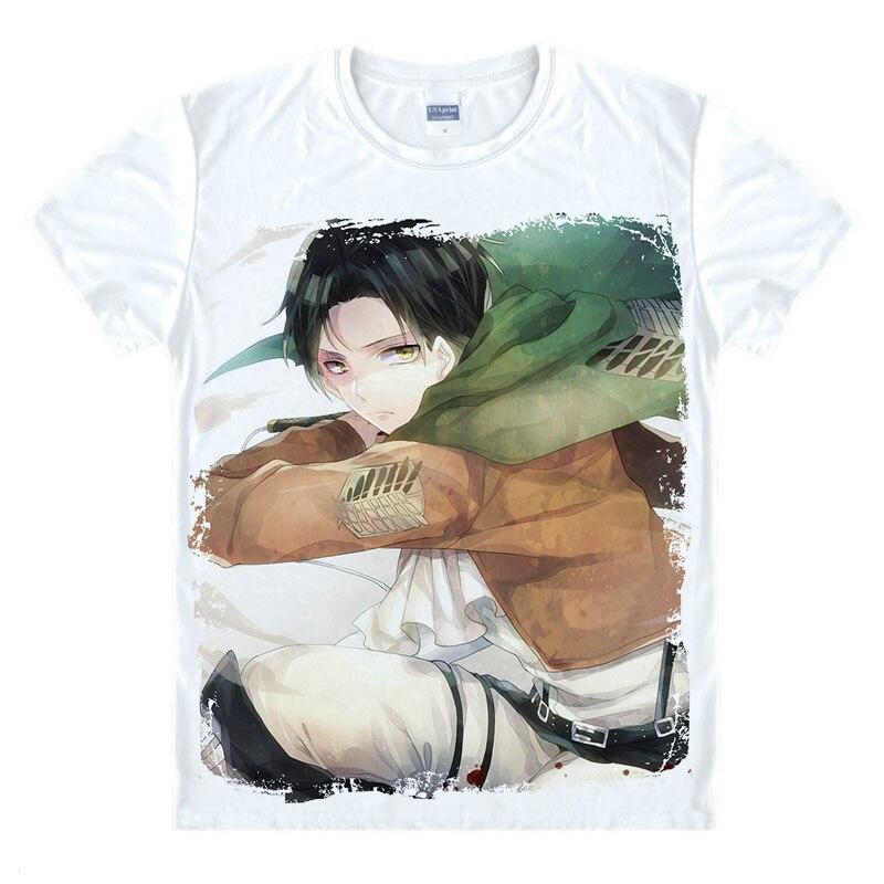 Japanse Anime T-shirt Scouting Legioen Kleding Shingeki Geen Kyojin - Herenkleding - Foto 5