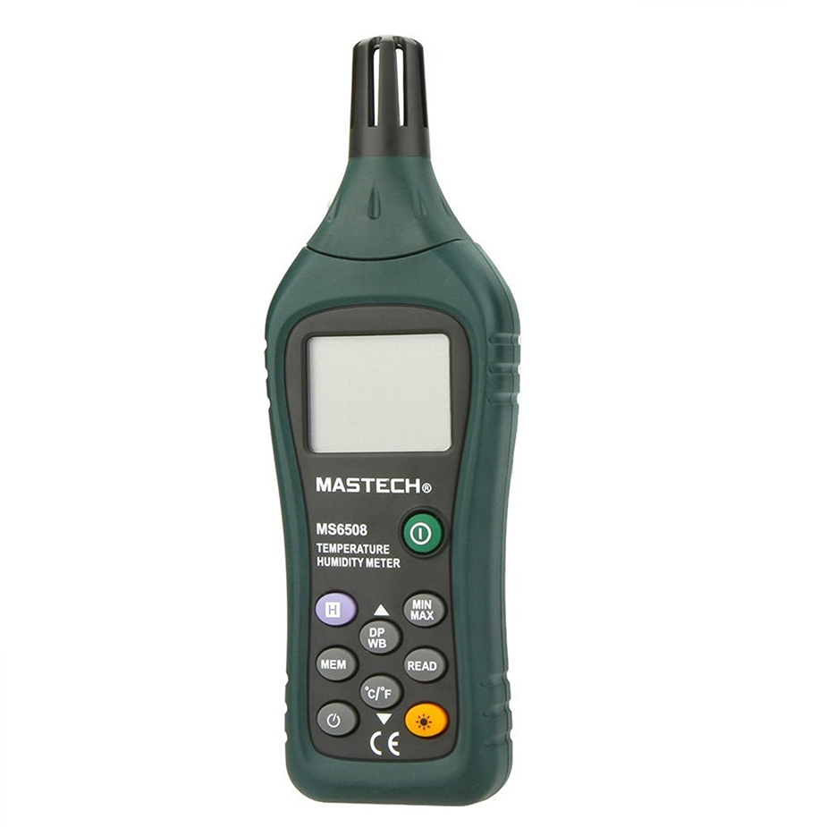 Hot MASTECH MS6508 High Precision Digital Temperature Humidity Moisture Meter цены