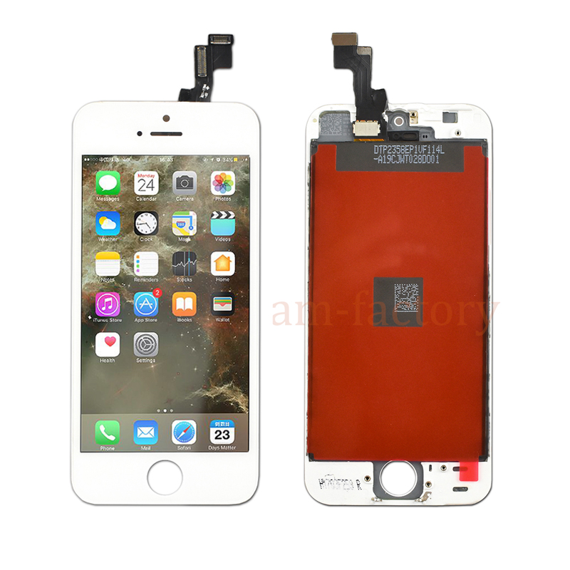 10OCS Touch Screen with LCD for iPhone 5 5S 5C SE Display Digitizer Assembly Replacement Free