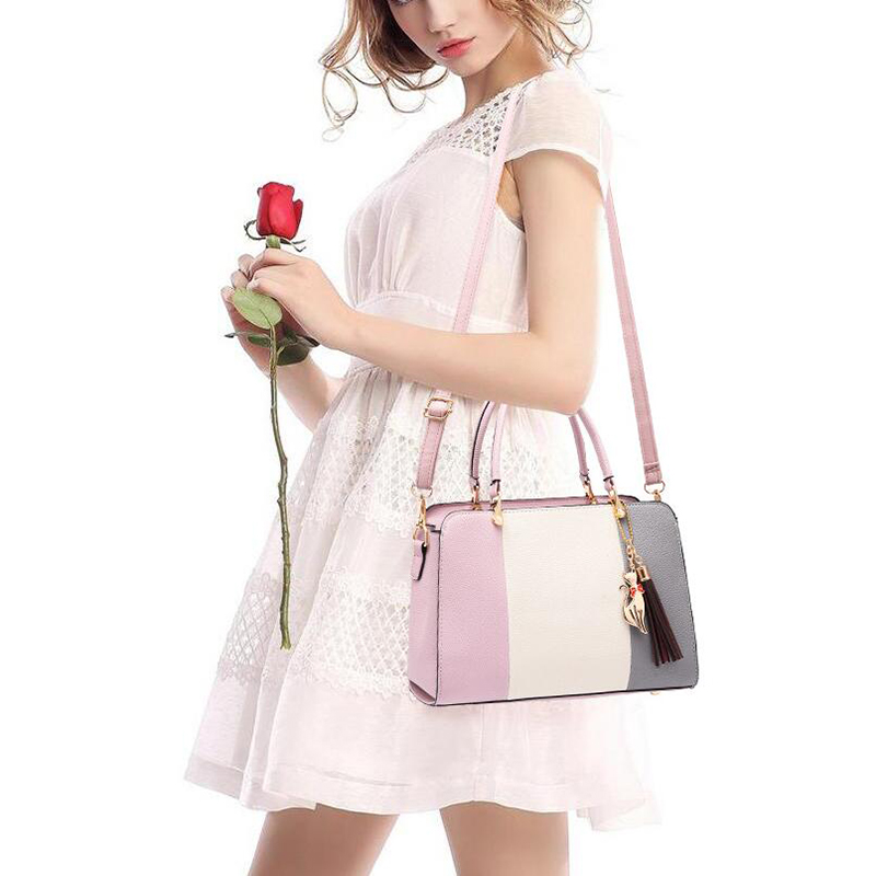 Promotion of new women's bags,limited purchase, work purse women crossbody shoulder handbags Rubber red 27×12×19cm 30