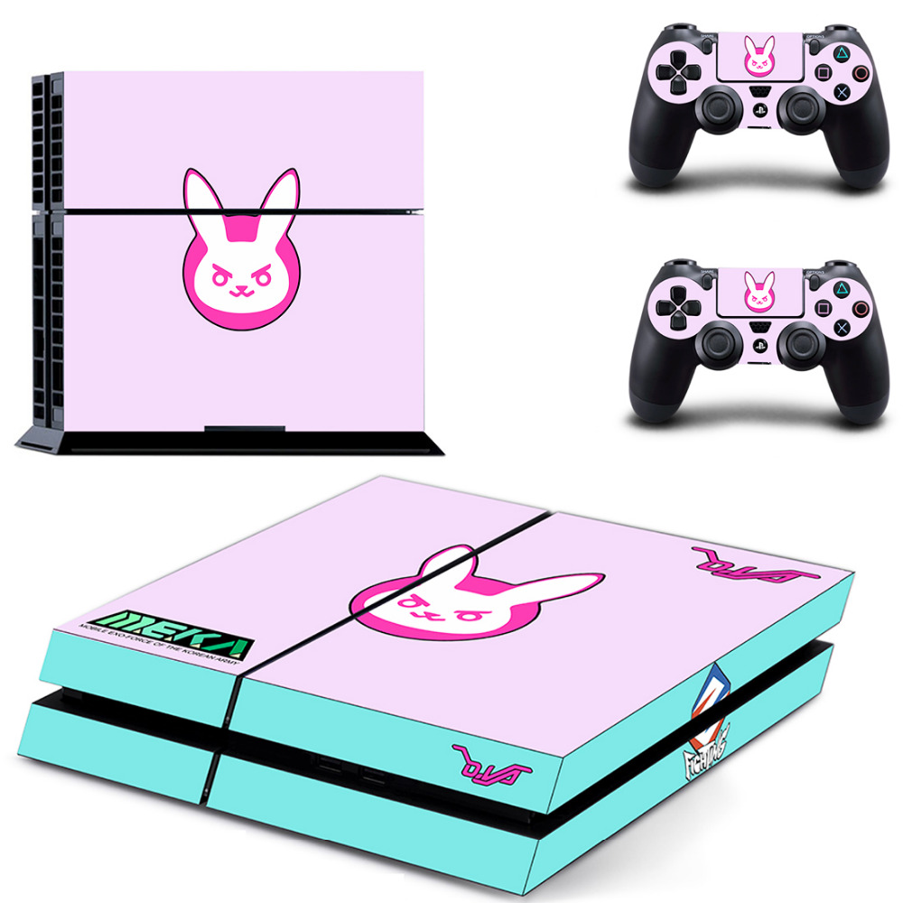 For Overwatch PS4 Skin Sticker Decal For Sony PlayStation 4 Console and 2 Controllers PS4 Skin Sticker VinylFor Overwatch PS4 Skin Sticker Decal For Sony PlayStation 4 Console and 2 Controllers PS4 Skin Sticker Vinyl