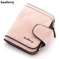 Baellerry New Lady's   Wallet   2018 Luxury Brand   Wallet   Women Scrub Leather Female   Wallets   Purse for Coins Carteira Feminina Bolsa