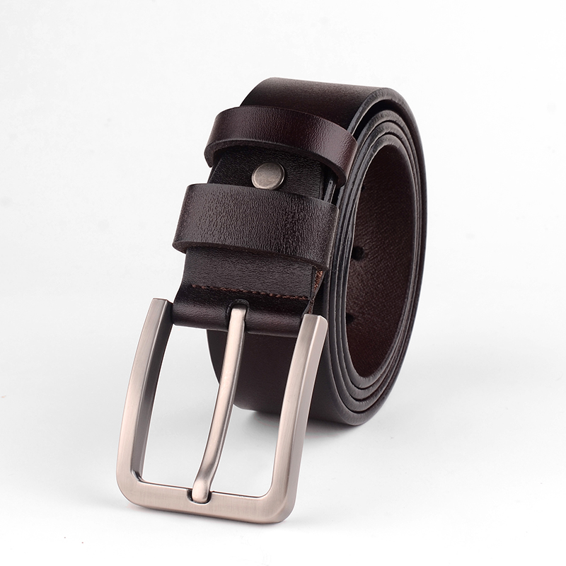 Badinka 2017 New Desinger Men Genuine Leather Belt Mens Luxury Wide Black Brown Vintage Silver Fancy Buckle Belts for Jeans