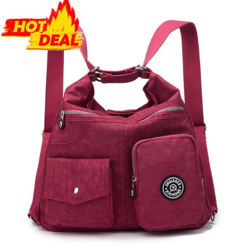 JINQIAOER Neue Wasserdichte Frauen Tasche Doppel Umhängetasche Designer-handtaschen Hohe Qualität Nylon Weiblichen Handtasche bolsas sac ein haupt