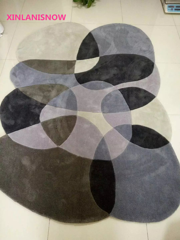 xinlanisnow acrylic carpet children's room shaped carpet carpets