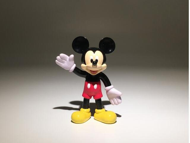 24pcs 7cm classical couple mickey mouse minnie small figure toys ...