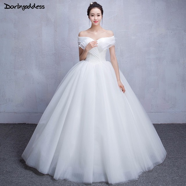 Newest Style Princess Lace Wedding Dresses Turkey Short Sleeve