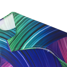 Wholesale Women 2016 Casual Chiffon O-Neck Colours Personality Print Sleeveless Party Club Tank Mini Dress Vestidos WAIBO BEAR