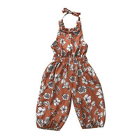 2017 New Kids Baby Girl Strap Romper Jumpsuit Harem Pants Trousers Overall Clothes Outfit