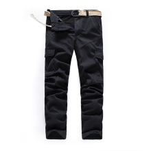 2019 Mens warm pants for winter Male Tactical Baggy Multi Pocket Fleece Trouers Autumn Military Cargo Velvet Pants  JOGGER