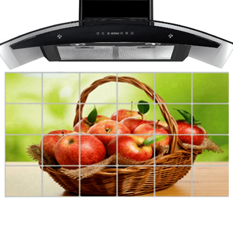 apple kitchen decor accessories 90 cm 60 cm apple kitchen wall stickers accessories chef 4164