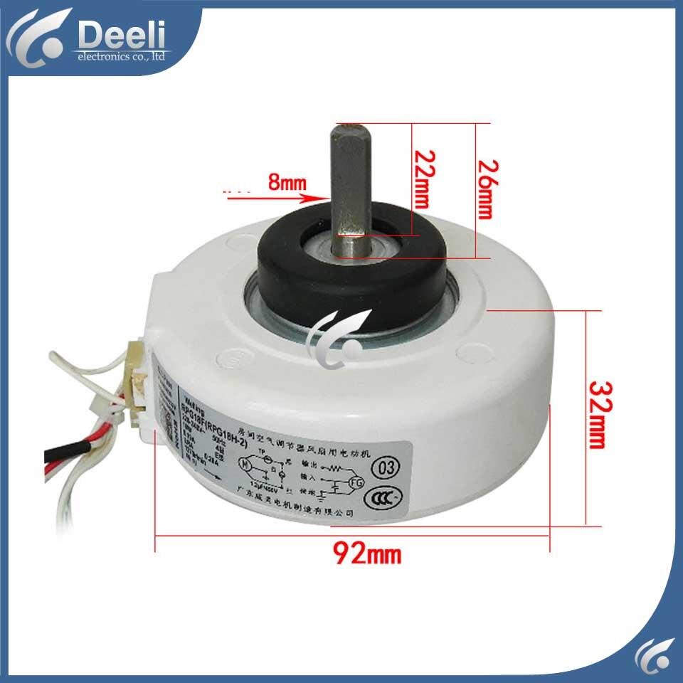 все цены на new good working for Air conditioner inner machine motor RPG13C RPG18F RPG18H-2 Motor fan