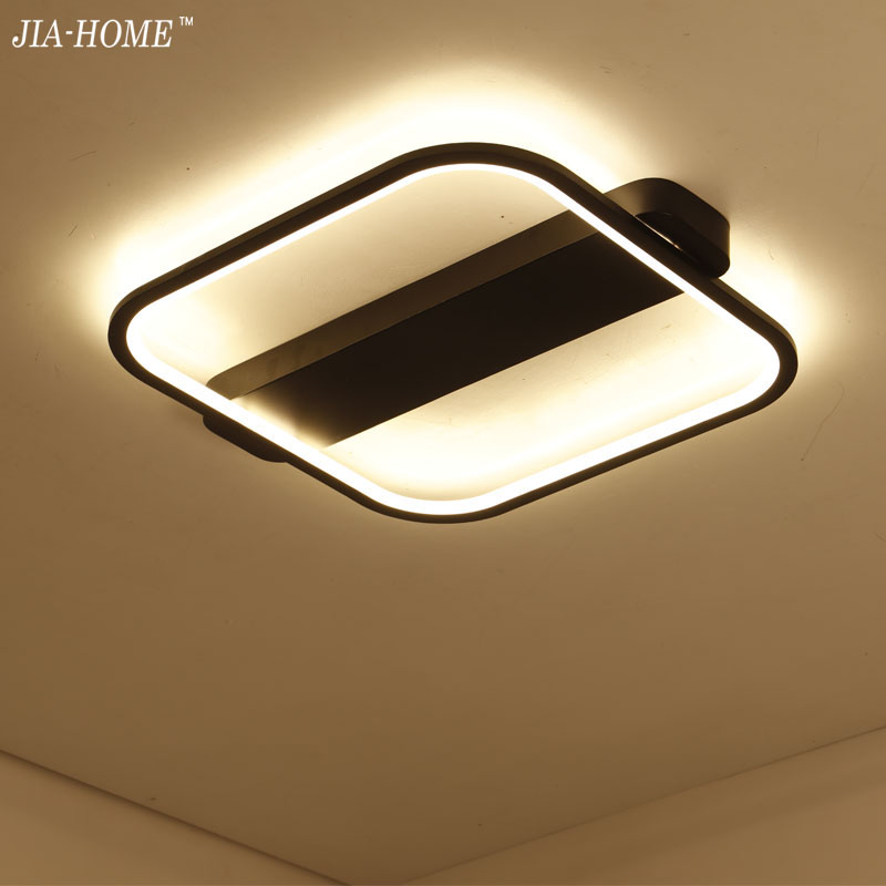 Square ceiling lights plafond lamp for living room bedroom Foyer modern led ceiling lamp dimming home lighting lamparas de techo rectangle remote control led ceiling lights for livingroom dining bedroom ceiling lamp home lighting lamparas de techo plafond