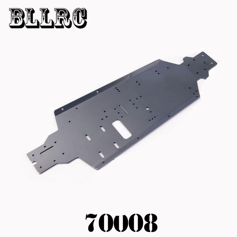цены HSP 70008 Bottom chassis suitable for RC car 1/8 HSP 94762 94766 Original accessories Free shipping