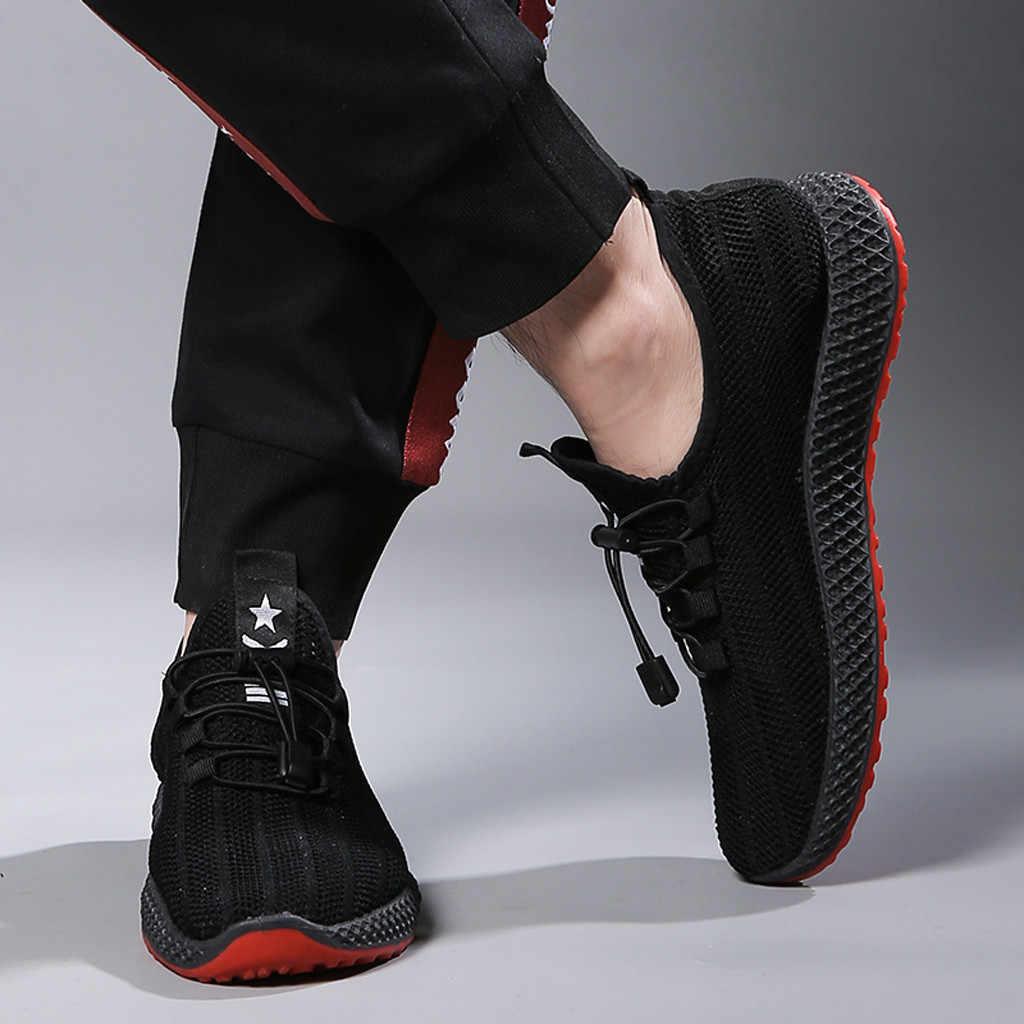 Мужские спортивные туфли на шнуровке; спортивные дышащие кроссовки; мужская Белая обувь; Zapatillas; спортивная мужская обувь; chaussures femme