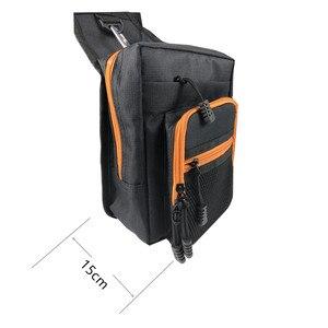 Image 4 - 낚시 슬링 팩 어깨 슬링 물고기 가방 캔버스 방수 미끼 태클 가방 허리 팩 낚시 다목적 가방