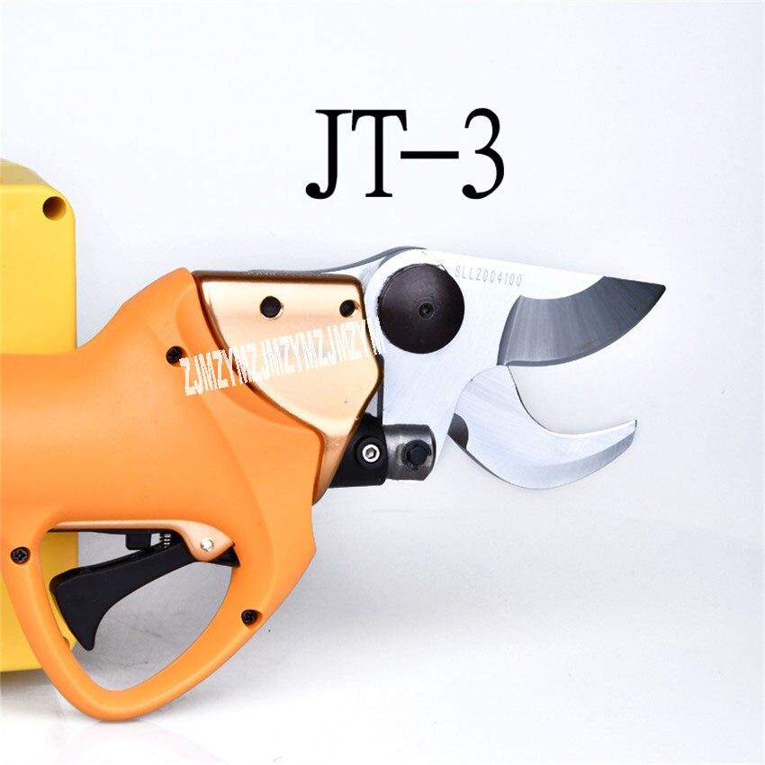 Новые JT 3 электрические ножницы для обрезки фруктовых деревьев 40 в аккумуляторные энергосберегающие садовые филиалы ножницы высокие ветви
