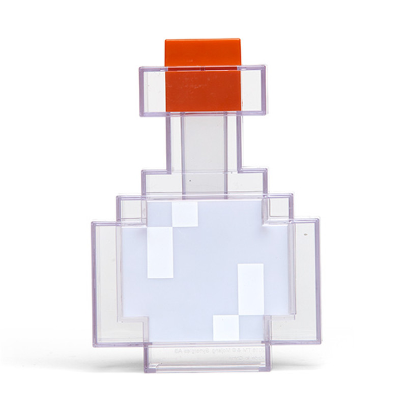 Minecrafted Farbwechsel Trank Flasche Licht Abbildung Spielzeug ...