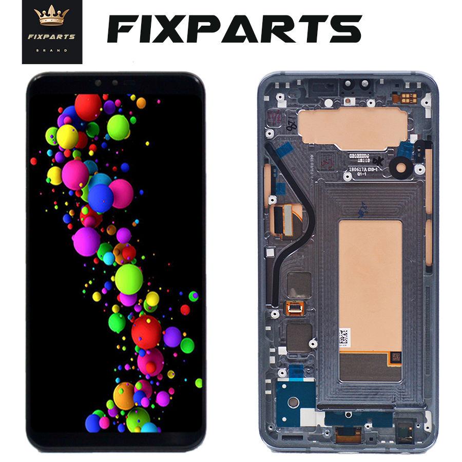 D'origine 6.5 1440x3120 Testé Écran Pour LG V40 Écran Tactile Digitizer Assemblée pour LG V40 Affichage ThinQ avec Cadre Remplacement