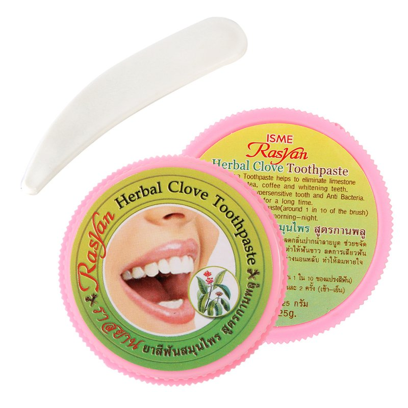 Teeth Whitening Thai toothpaste Strong Formula Herb Natural Herbal Toothpaste Amazing