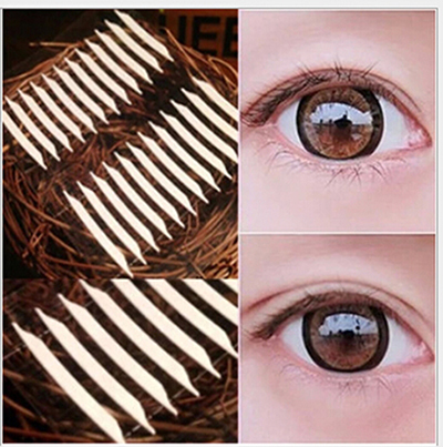 Hot Sale 1 Sheet Invisible Double Eyelid Tape Sticker Beautiful Eyes Reflective Stickers For Women