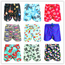 2019 Brand BREVILE PULLQUIN Swimwear Men 100% Quick Dry Turtle Vile Board Short Bermuda Beach Mens Bathing Shorts Sunga Swimsuit(China)