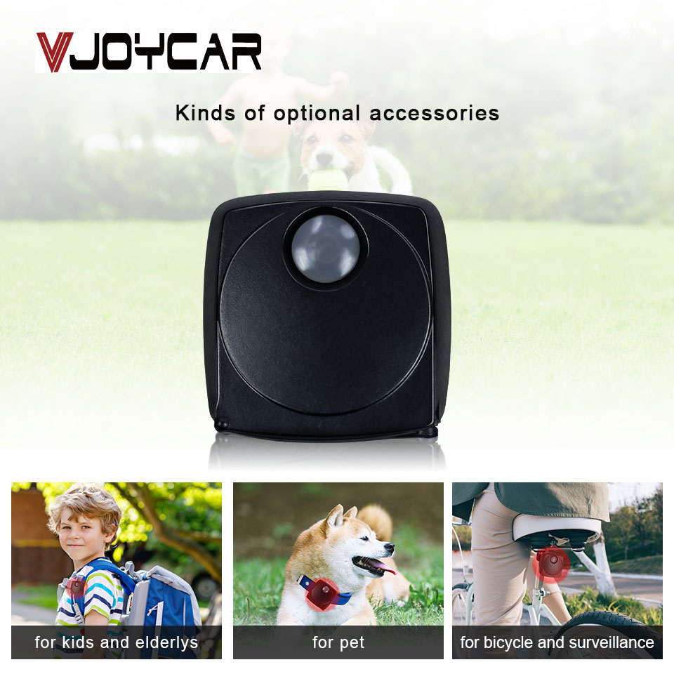 VJOYCAR T633G 3G Mini GPS Tracker Car Dog Dog Pet Vehicle Bike Real Time Tracking GPS locator GSM SMS GPRS Geo ցանկապատ վեբ տեղական համակարգիչ