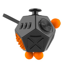 2018 New Fidget Cube Squeeze Fun 12 Ways Side Anti Fidgety Anxiety Relieving Stress Finger Movement Puzzle Creative Toys