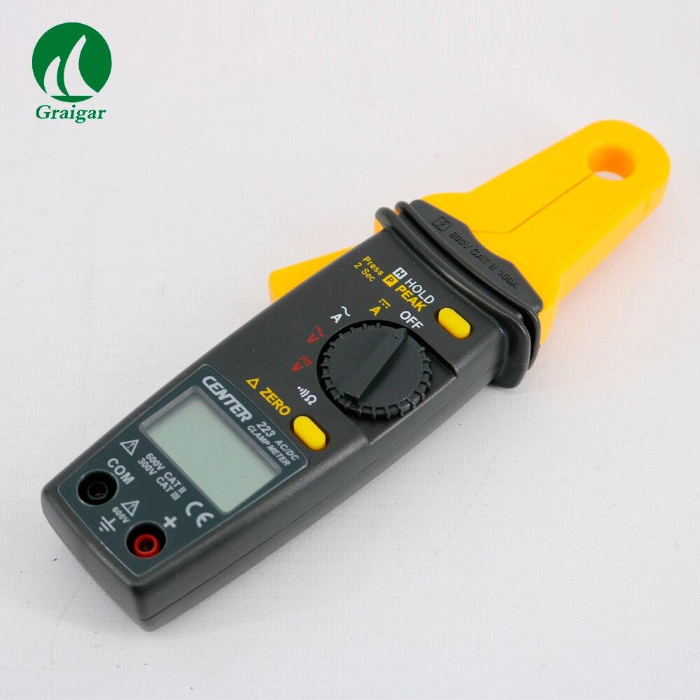 CENTER 223 Mini Clamp Meter Clamp Meter Tester AC Clamp Meter 3 1/2 4 digitale flüssigkeit display
