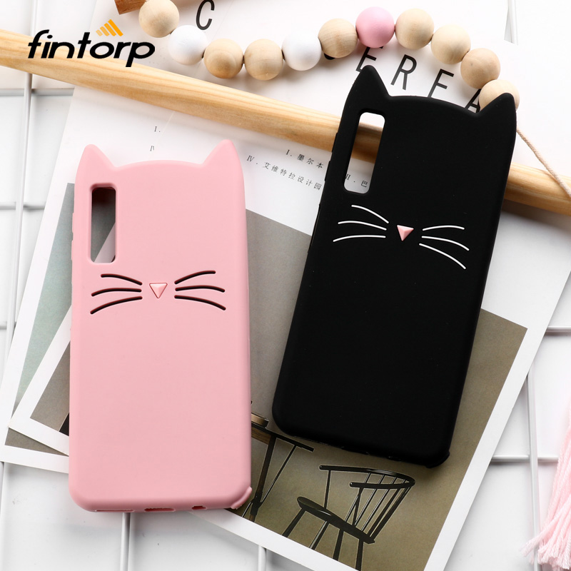 Phone Bags & Cases Cellphones & Telecommunications Izyeky Case For Samsung Galaxy A7 2018 A750 A750f A3 A5 A7 2016 2017 Middle Finger Cat Silicone Cover A3 A5 2017 A320f A520f