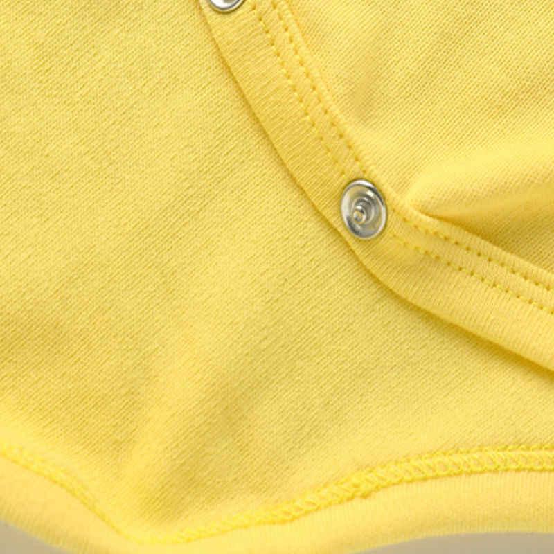 Bodysuits para bebés y niños para infantes recién nacidos ropa para bebés bebé verano niños subir 100% ropa de algodón mono triángulo