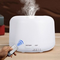 Remote Control 300 ML Ultrasonic Aroma Air Humidifier With 7 Colors Lamp Electric Aromatherapy Essential Oil