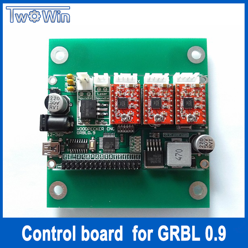 GRBL 0.9J,USB port cnc engraving machine control board, 3 axis control,laser engraving machine board 3 axis cnc machine 3040 cnc 800w usb port metal engraving machine with water sink