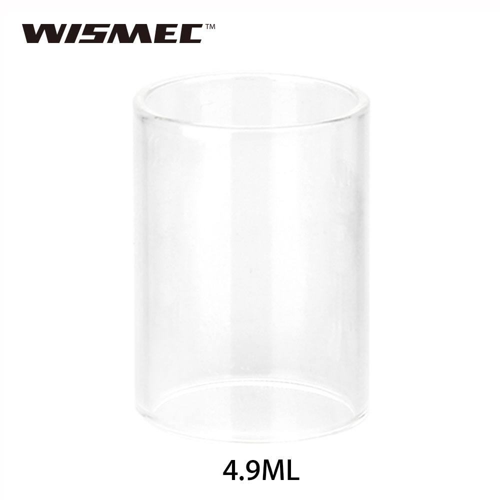 Original WISMEC Reux Replacement Glass Tube 6ml High Quality Pyrex Glass Tube for Reux Atomizer Tank E-cigarette Accessories