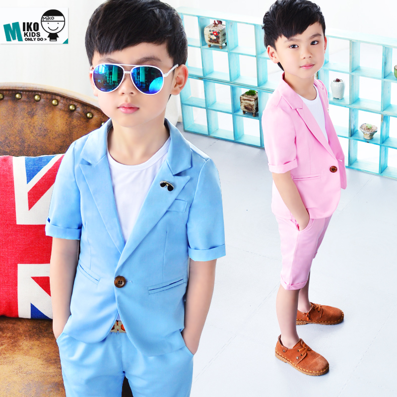 Buy Summer Brand Baby Suit Gentleman Boys Clothing European Style Baby Boy