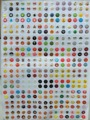 330 Pieces/Lot Home Button Key Sticker Paster For iPhone 4 4s 5 5s 5c SE 7 6 6s Plus iPad air mini 2 3 4 ipod Touch 4th 5th 6th