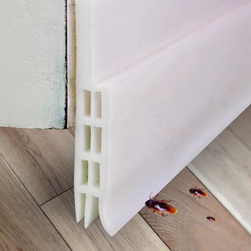 Elegant Under Door Draft Stopper Weather Stripping Energy Saving Wind Blocker  Window Bottom Guard Seal Strip M25 In Door Stops From Home Improvement On  ...