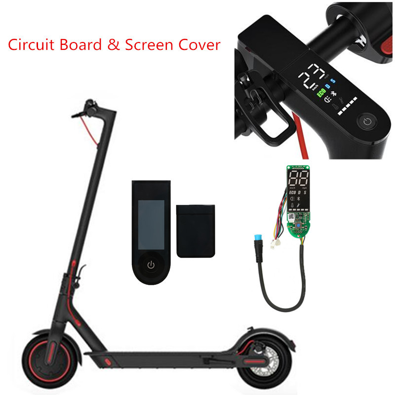 Electric Scooter Dashboard BT Circuit Board With <font><b>Display</b></font> Screen Cover For <font><b>Xiaomi</b></font> <font><b>Mijia</b></font> <font><b>M365</b></font> /<font><b>Pro</b></font> image
