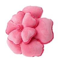 3D Rose Pillow Cushion Soft Stuffed Toy Funny Plush Bolster Wedding Decor