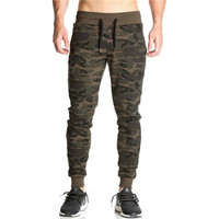 Winter Skinny Camouflage Pants For Men Military Style Tactical Army Green Sweatpant Jogger Trousers Male Sweat