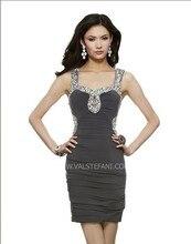 купить free shipping 2013 beaded back short vestido de noiva sexy plus size club elegant christmas party prom gown cocktail dresses по цене 8727.58 рублей