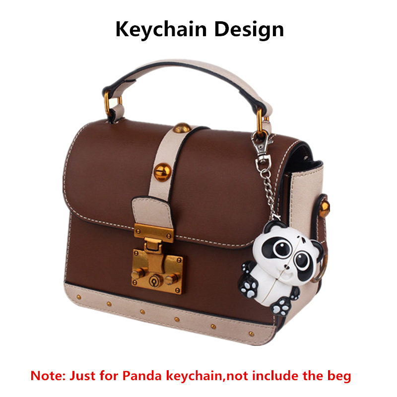 YuXin Panda Keychain 2x2x2 Magic Speed Cube Key Chain Puzzle Cubes For Stress Reliever in Magic Cubes from Toys Hobbies
