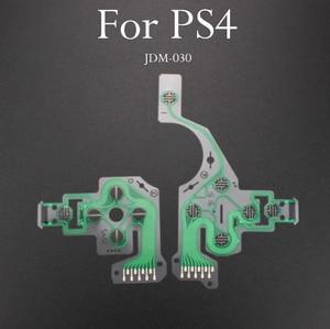 Image 4 - TingDong 20 adet/grup yedek denetleyici şerit devre kartı PCB iletişim Pad flex kablo için PS4 denetleyici onarım bölümü PS4 PRO
