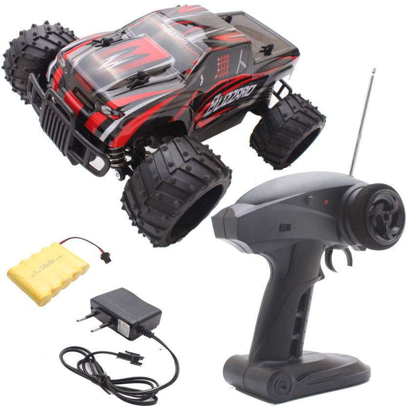 ФОТО Wireless remote control off road buggy car 1:16 Electric RC Car Off Road High Speed Remote Control Car Model Toys for children