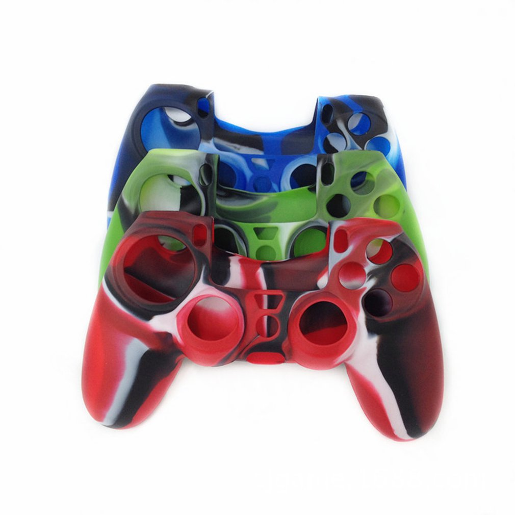 Silicone Cover Joystick Caps Case Anti-slip Grip Handle Cover Protective Case For Sony Playstation 4 PS4 Controller