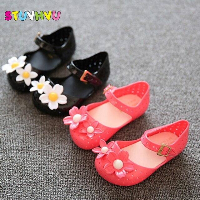 Mini Sed bambini scarpe per bambini sandali delle ragazze di estate bambini  Gelatina sandalo scarpe con 867c0315072
