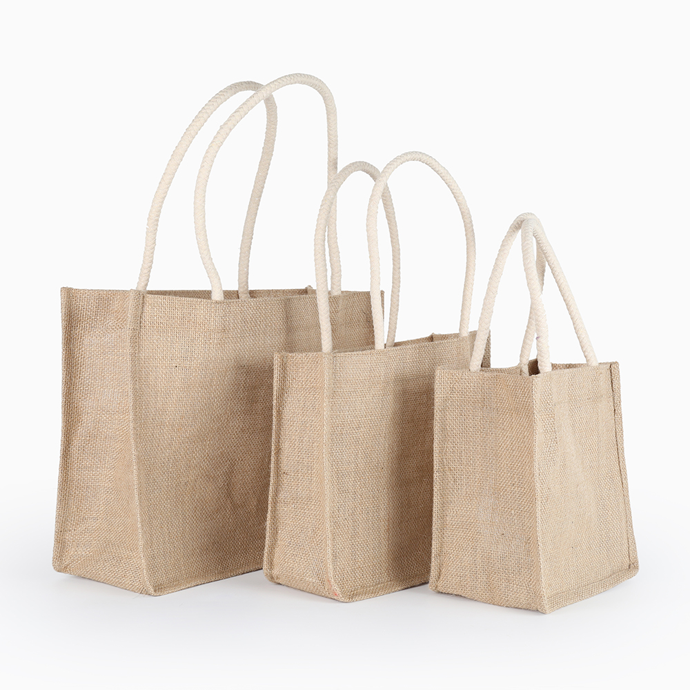 Handmade Linho Juta Bolsa Para As Mulheres Feminino Saco Totes Shopping Bag para as mulheres 2019 bolso mujer