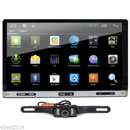 "Android 4.4 7"" 2Din InDash Car DVD Radio Stereo Player HD"