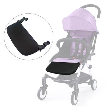 Baby wózek akcesoria YOYA YOYO Kid wózek spacerowy podnóżek Foot REST dla dzieci wózek marki niemowląt spać przedłużyć pokładzie podnóżek tanie i dobre opinie 7-9Y 7-9M 19-24M 13-18M 10-12M 4-6Y 2-3Y 0-3M 4-6M insular Poliester Socks Stroller Accessories Stroller Accessories for yoya stroller