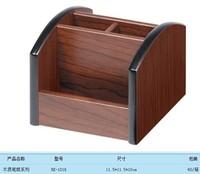 Woodcarving Home Desktop Receive A Case Business Card Holder Pen Holder Stationery Receive A Case